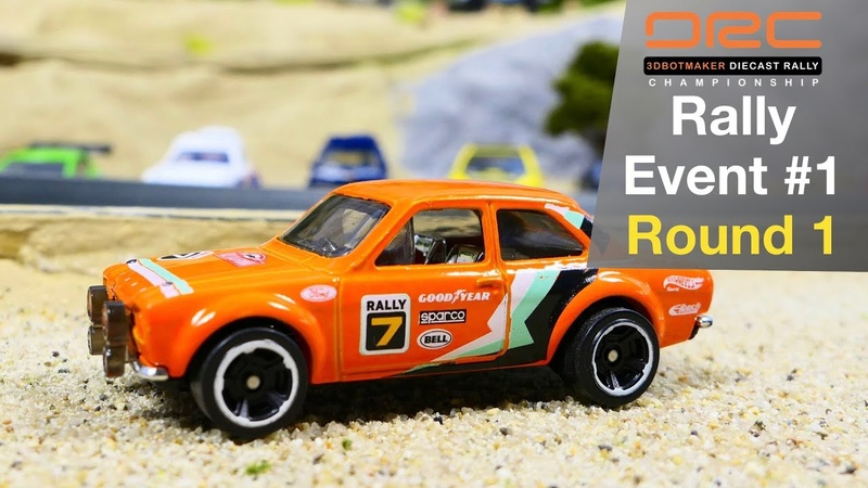 Diecast Rally Car Racing Event 1 Round 1 Tomica Hot Wheels Matchbox