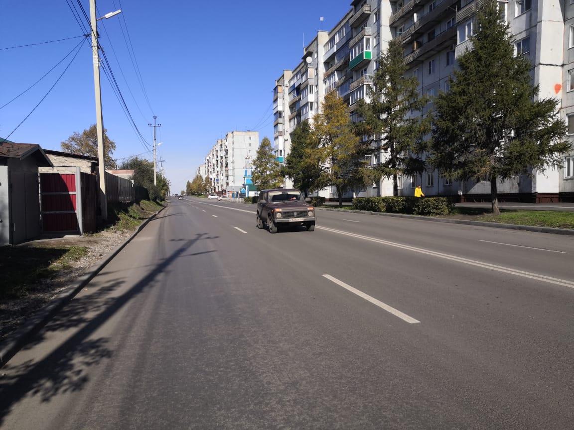 Белово, улица Октябрьская