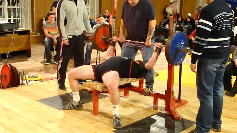 Иван Оляшев жим 165 кг