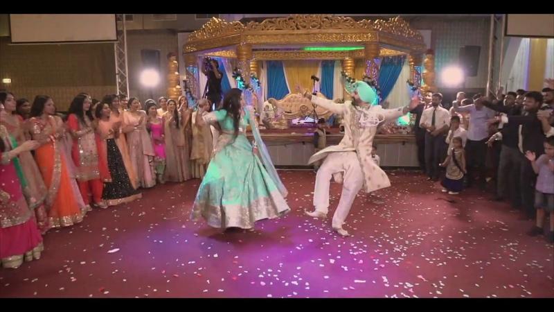 BOLLYWOOD II Dance Battle II Punjabi Engagement NAVDIP AND SARVRAJ