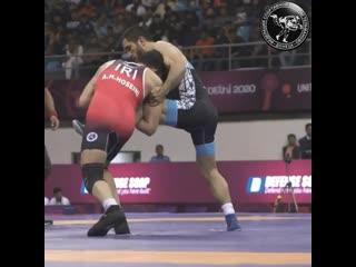 Ильяс Бекбулатовпобедитель чемпионата Азии2020 Нью-Дели (Индия)