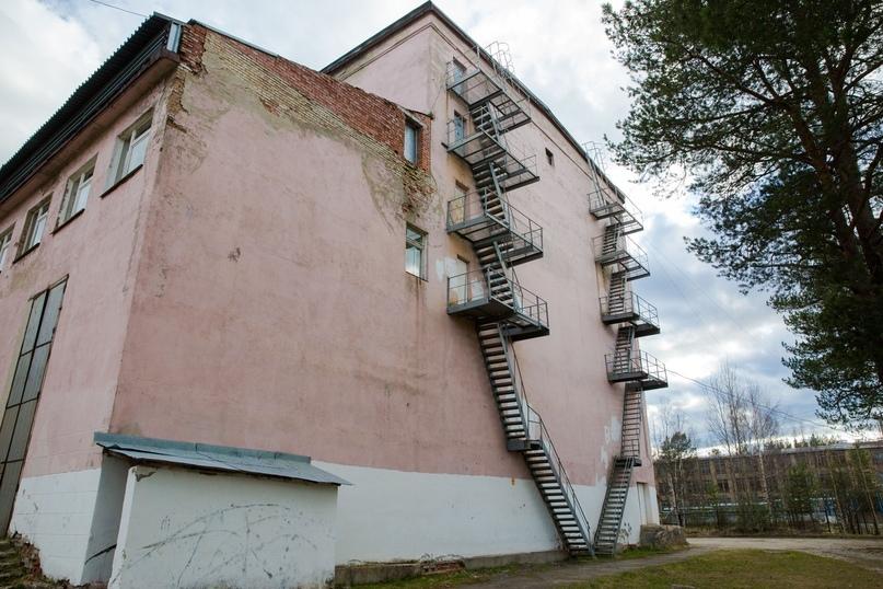 Фасады Дома культуры п. Водный