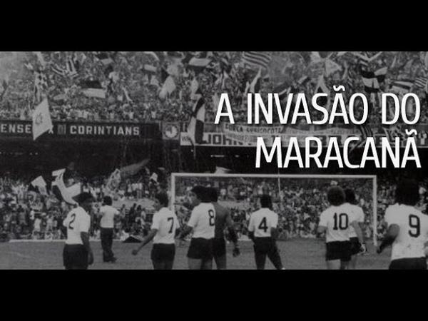 A Invasão Corinthiana no Maracanã 1976