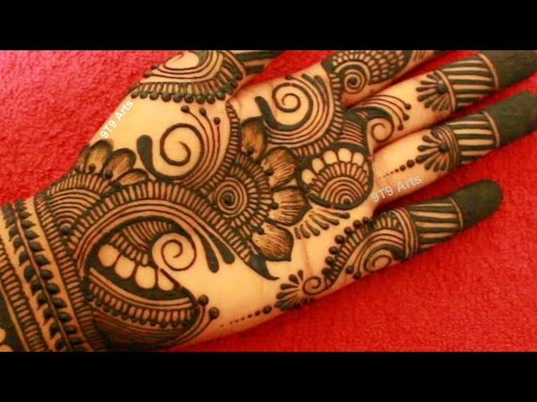 Unique Dulhan Mehndi Design for Full Hand | New Bridal Henna Mehndi Design | Simple Wedding Mehandi