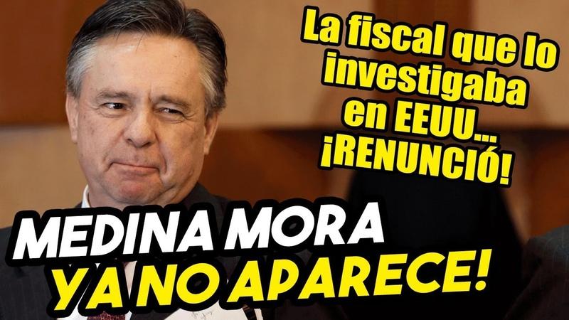 INSÓLITO! Renunció la fiscal en EEUU que investigaba a Medina Mora y el ministro ¡ya no aparece!