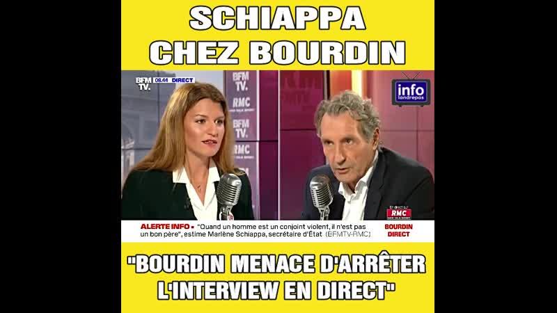 Agacé par Marlène Schiappa, Jean-Jacques Bourdin menace d'arrêter