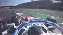 Kvyat v Perez last lap collision US Grand Prix