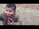Turkish Soldier He gives His food a Syrian child