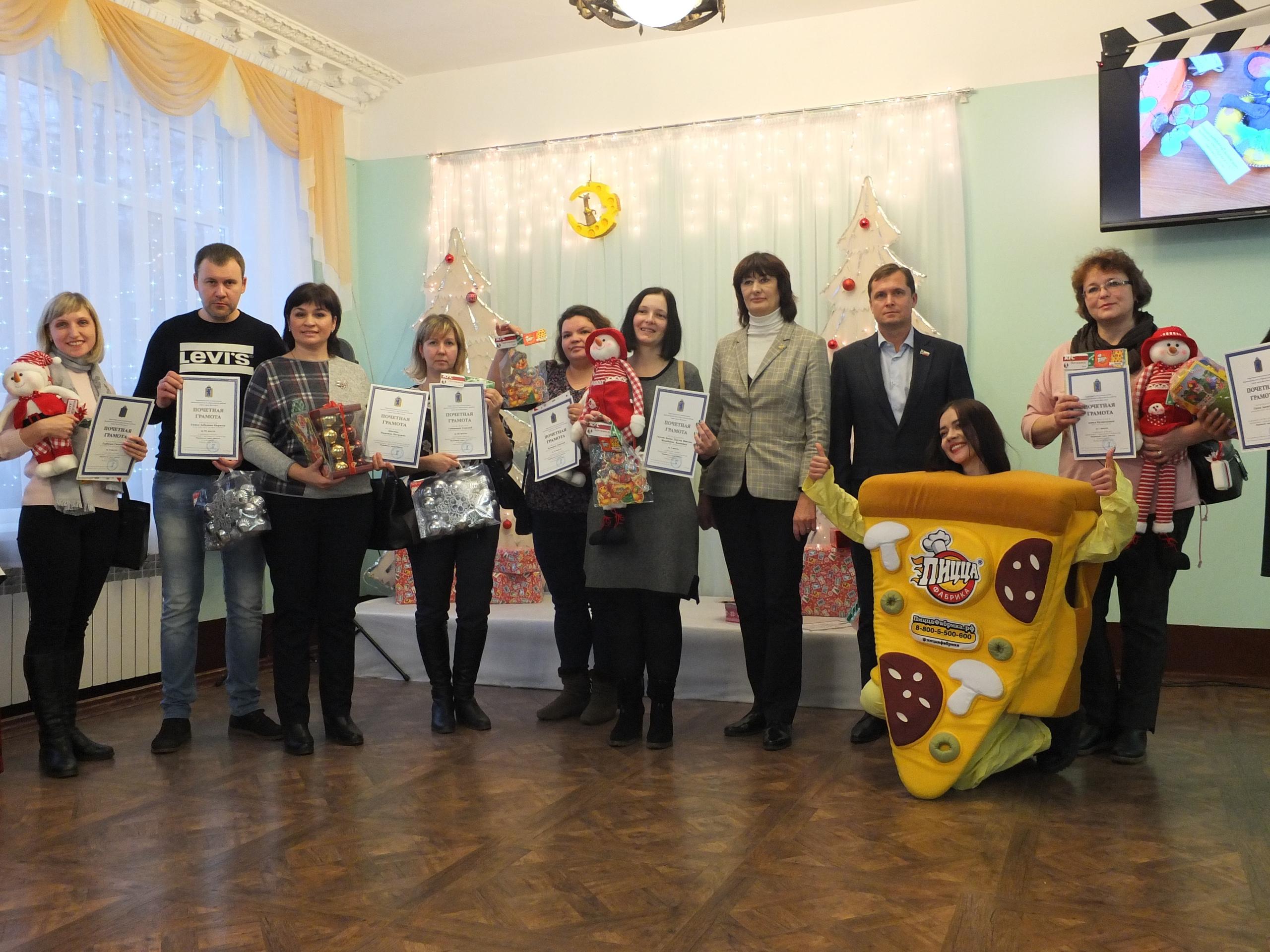 Состоялось награждение победителей конкурса декоративно-прикладного творчества «Наряжаем город вместе»