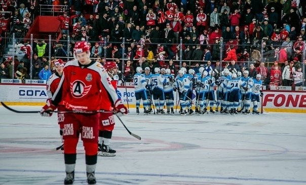 Сибирь одерживает победу в первом выездном матче плей-офф.