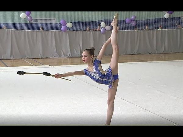 ВЕРНИГОРА КСЕНИЯ 2007 БУЛАВЫ Rhythmic gymnastics, Ginnastica ritmica
