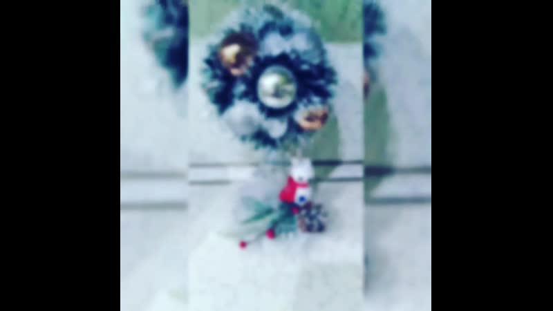 Новогоднее дерево счастья-Топиарий