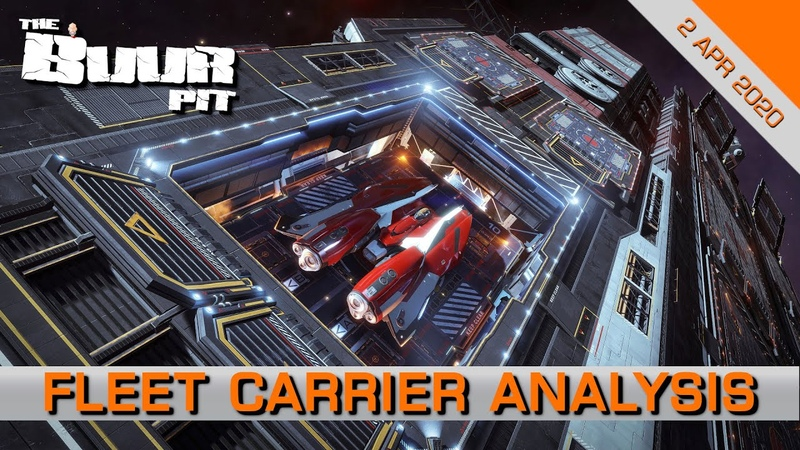 Elite Dangerous Fleet Carrier Announcement Analysis Breaking down FDevs fleet carrier livestream