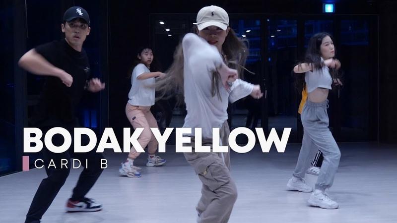BODAK YELLOW Cardi B JINSOL choreography