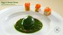 Egg in Green Dress L'oeuf en Habit Vert – Bruno Albouze – THE REAL DEAL