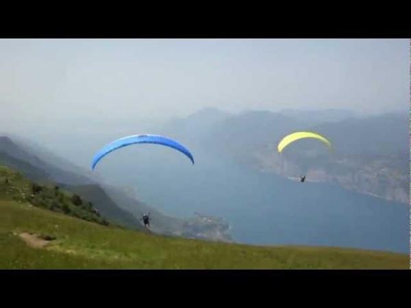 Paragliding Monte Baldo am Gardasee Parapente no Lago di Garda