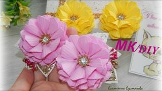 А что так можно было!?/ Удивительно просто и красиво/ Цветы из фоамирана/ Резиночки Eva Foam Craft