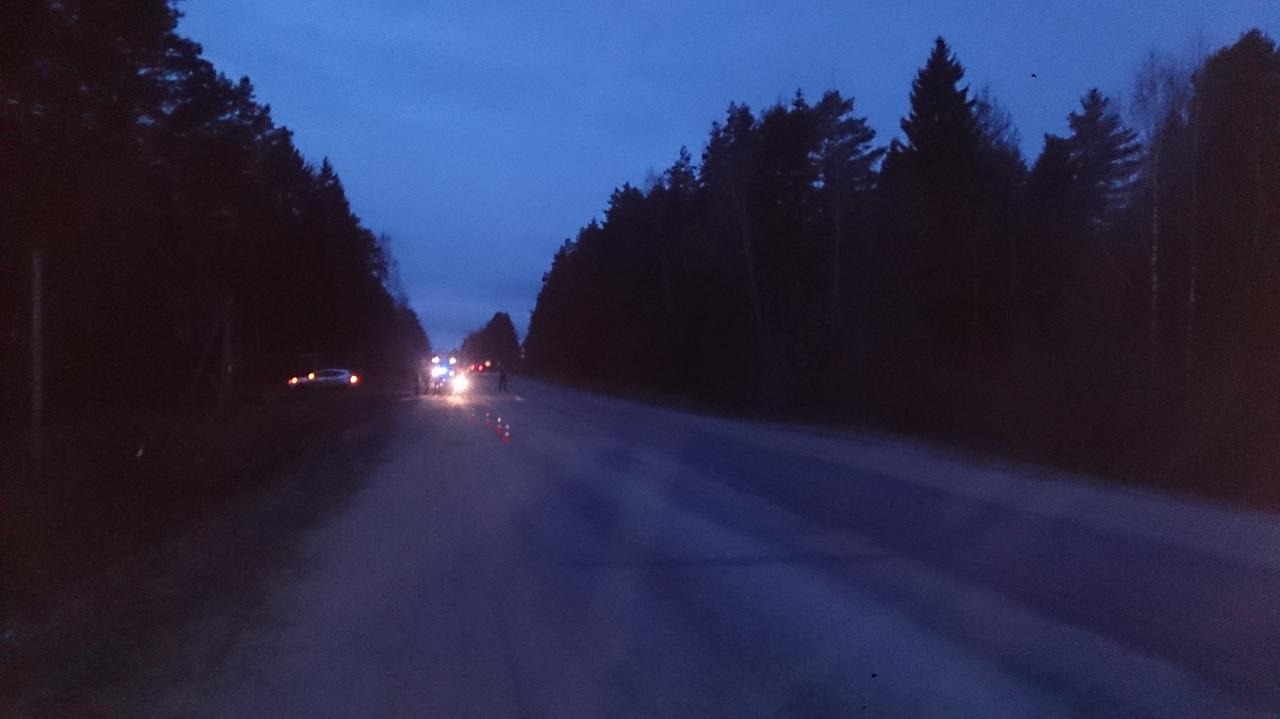 На трассе Дубна – Кимры – Горицы водитель ВАЗа получил травмы, опрокинув авто в кювет