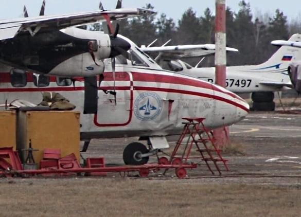 Л-410 Сасовское летное училище повреждение шасси