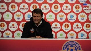 """Юрий Газзаев: """"Помимо гола были такие подходы, где можно было и увеличить счет"""""""