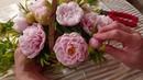 Мыловарение/ Создание букета из розовых пионов