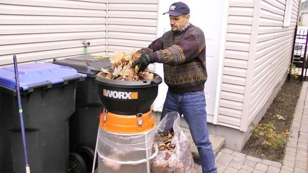 ОБЗОР: Садовые измельчители веток, травы и мусора