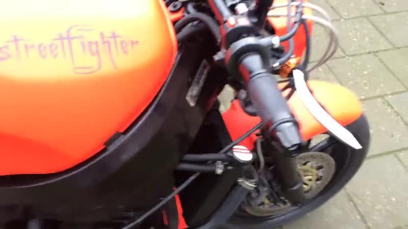 Honda Cbr 900 rr streetfighter