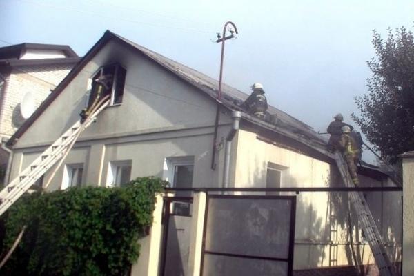 В Мариуполе во время пожара пострадали малолетние дети