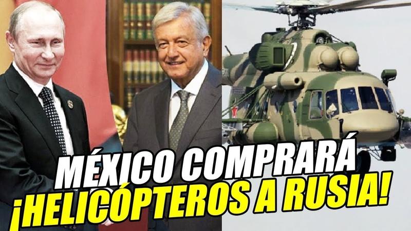 Acuerdan México y Rusia compra de helicópteros y asiento en Consejo de Seguridad de la ONU