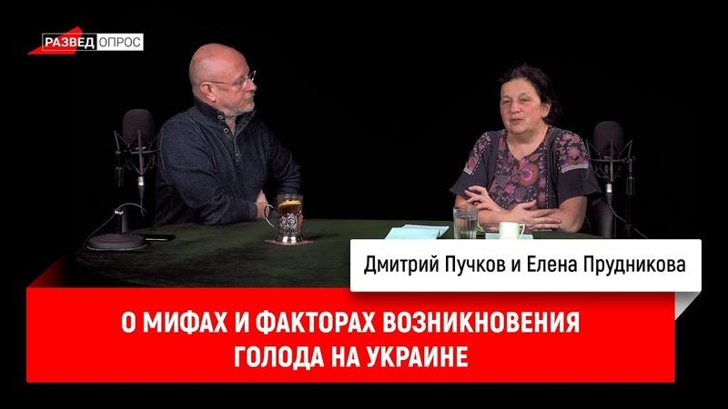 Елена Прудникова о мифах и факторах возникновения голода на Украине