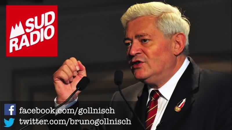 Bruno Gollnisch débattait au sujet de la proportionnelle sur Sud Radio