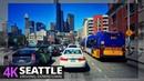 SEATTLE 4K60 - Driving Downtown