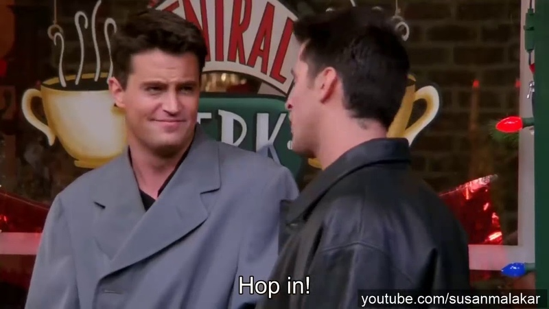 Chandler Bing - The Sarcasm King (from Friends)