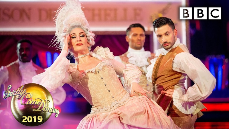 Michelle and Giovanni Couple s Choice Street Commercial to Vogue Blackpool BBC Strictly 2019
