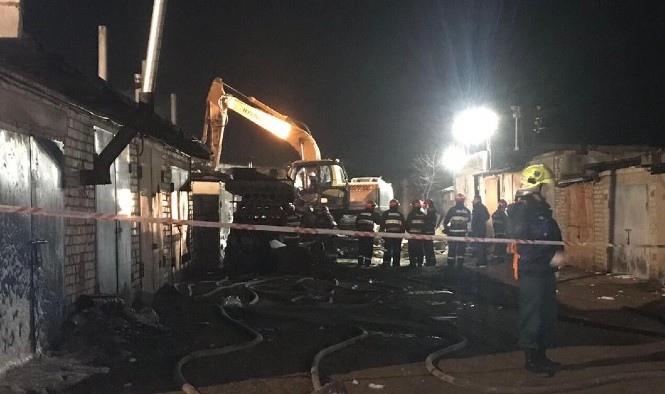 Следователи устанавливают обстоятельства взрыва в гаражном кооперативе в Бресте