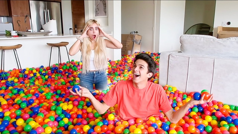 FILLING MY FRIEND'S HOUSE WITH PLAY BALLS **Freakout