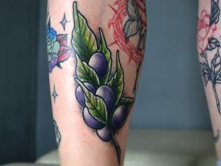 Неотрадишнл веточка ( процесс ) drunk master tattoo