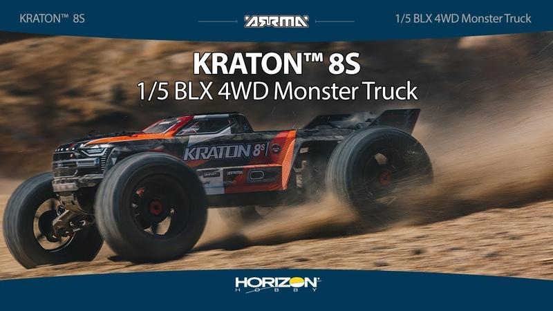 ARRMA® KRATON™ 15 8S BLX 4WD Speed Monster Truck RTR