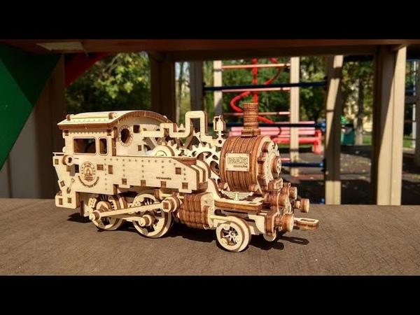 Локомотив MAX V-1 от Wood Gears