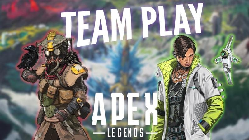 Apex Legends 2: фейлы, нарезка, игра с Крипто