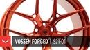 Vossen Forged S21 01 Wheel Vossen Red