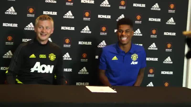 Marcus Rashford Manchester is my home United is my team Proud to have signed a new contract at the club ⚽📝 MUFC