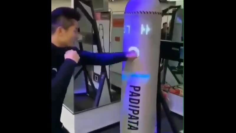 Технологичная боксерская груша