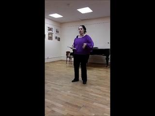 Бяп Амира Лейла, лекция с элемнетами концерта к Международному дню джаза 2018