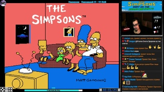 The Simpsons: Bart vs. The Space Mutants прохождение | Игра (Dendy, Nes, Famicom, 8 bit) Стрим RUS
