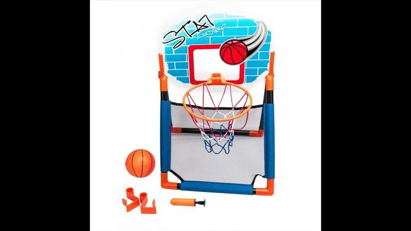 Баскетбольный щит 2 в 1 с креплением на дверь купить почтой России недорого наложенным платежом