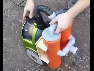 Превращаем обычный пылесос в строительный