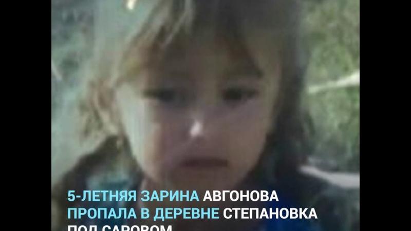Поиски пропавшей Зарины Авгоновой | NN.RU