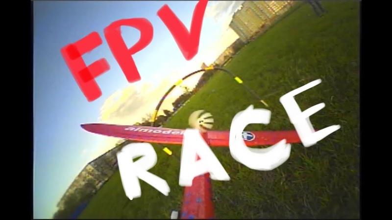 Озорные полеты fpv = самолётик 48см