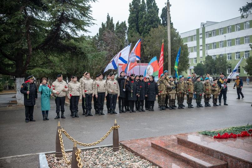Представители кинокомпании «Союз Маринс Групп» приняли участие в праздновании Дня морской пехоты в Севастополе
